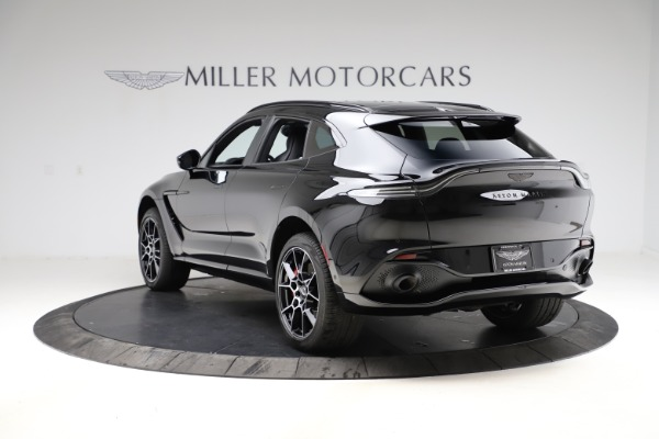 New 2021 Aston Martin DBX SUV for sale $212,686 at McLaren Greenwich in Greenwich CT 06830 4