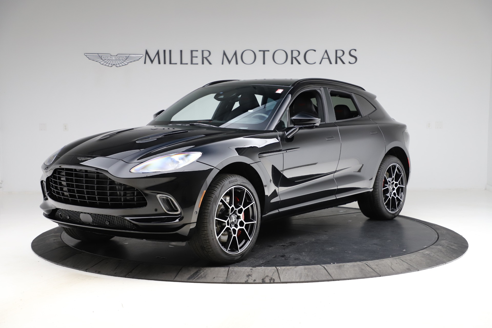 New 2021 Aston Martin DBX SUV for sale $212,686 at McLaren Greenwich in Greenwich CT 06830 1