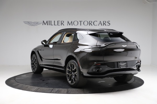 New 2021 Aston Martin DBX for sale $215,386 at McLaren Greenwich in Greenwich CT 06830 4
