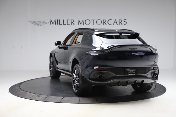 New 2021 Aston Martin DBX SUV for sale $264,386 at McLaren Greenwich in Greenwich CT 06830 4