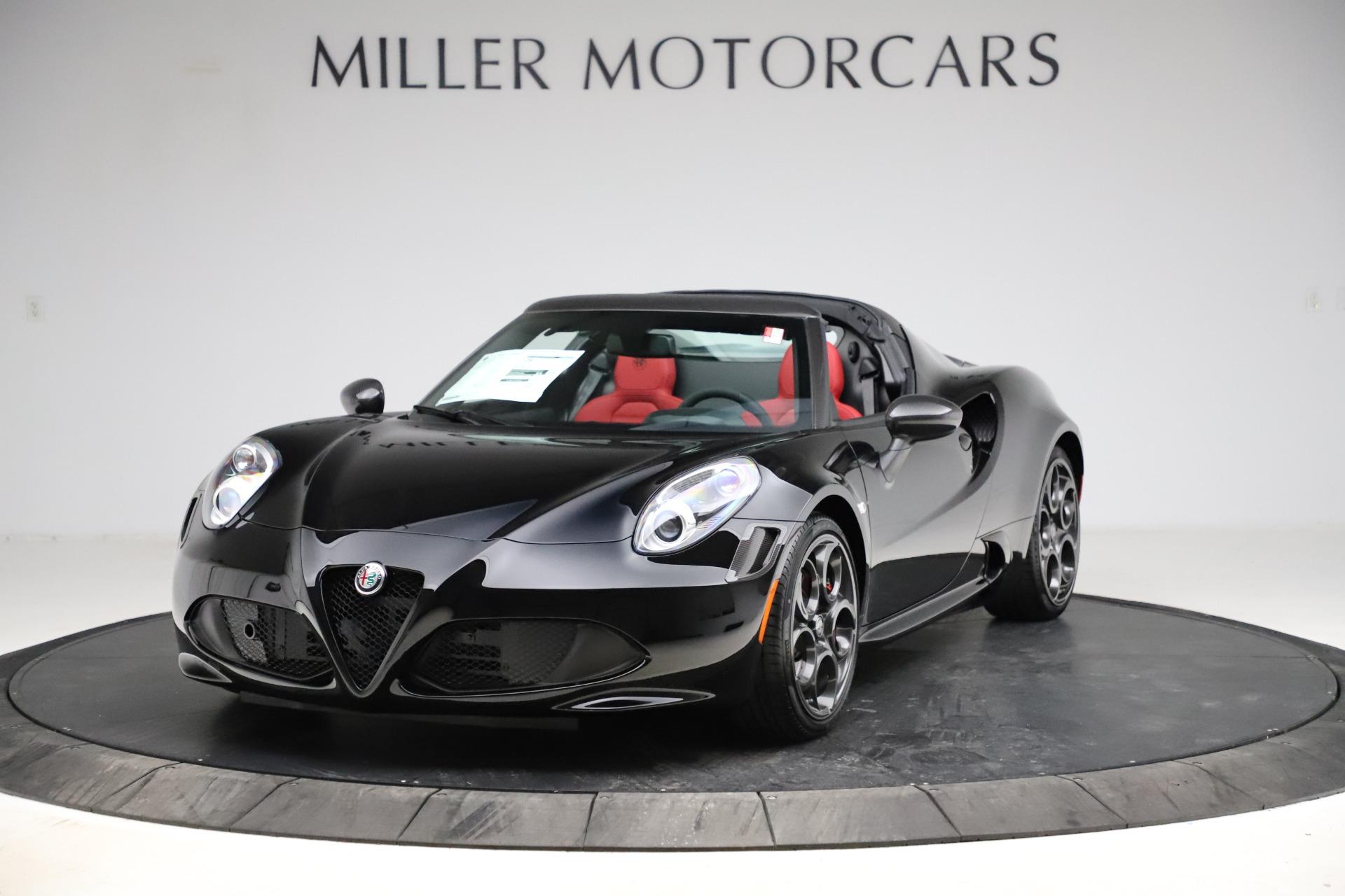 New 2020 Alfa Romeo 4C Spider for sale $75,445 at McLaren Greenwich in Greenwich CT 06830 1