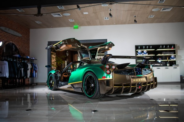 Used 2017 Pagani Huayra BC for sale Call for price at McLaren Greenwich in Greenwich CT 06830 2