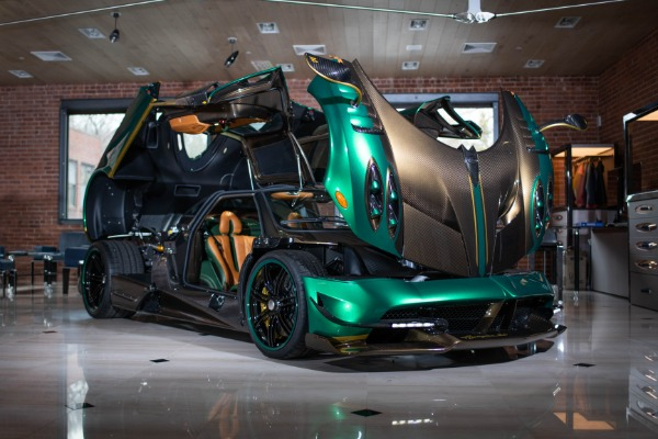 Used 2017 Pagani Huayra BC for sale Call for price at McLaren Greenwich in Greenwich CT 06830 3