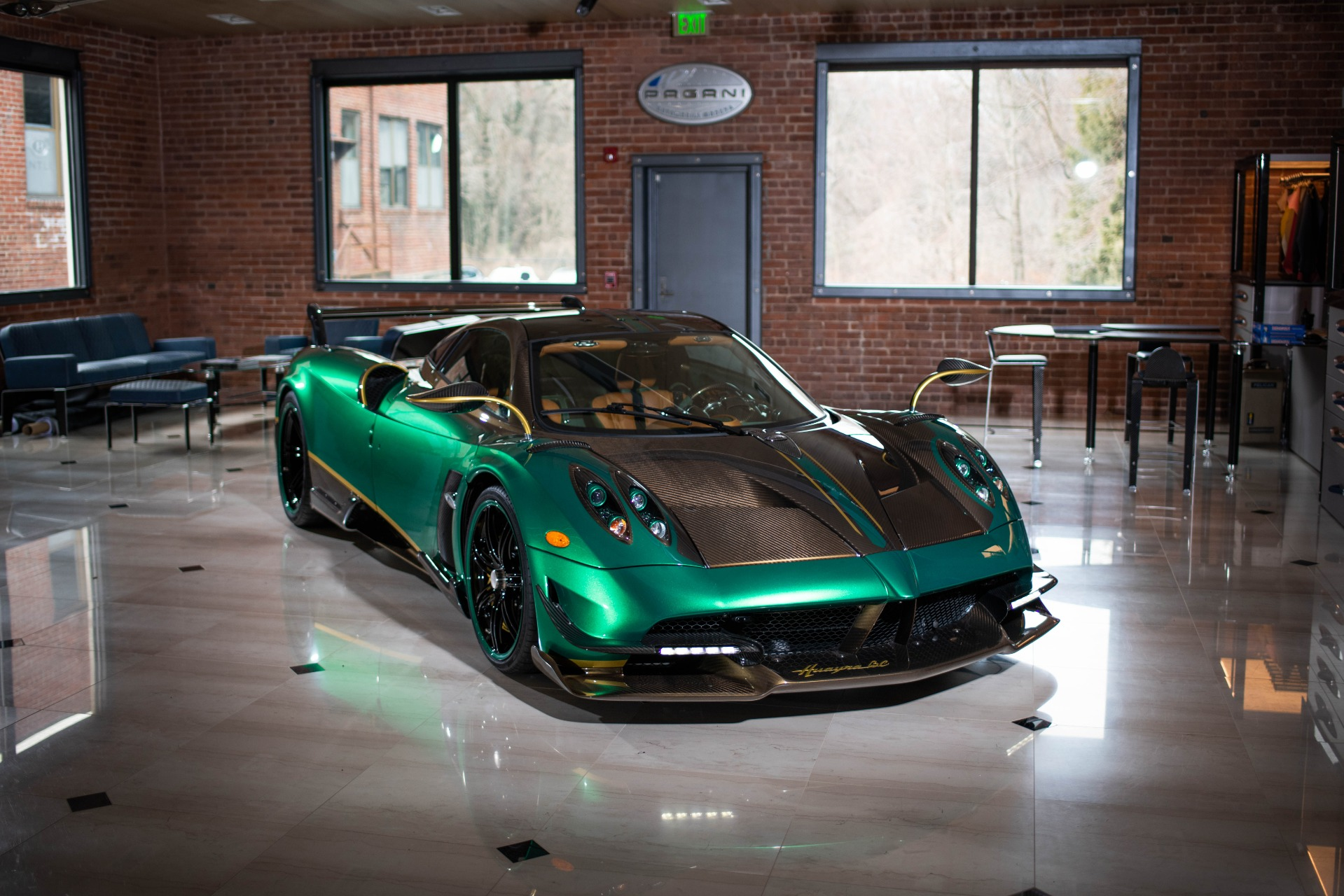 Used 2017 Pagani Huayra BC for sale Call for price at McLaren Greenwich in Greenwich CT 06830 1