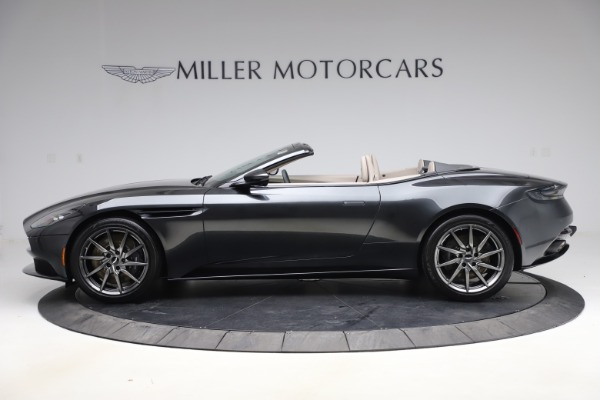 New 2021 Aston Martin DB11 Volante Convertible for sale $270,386 at McLaren Greenwich in Greenwich CT 06830 2
