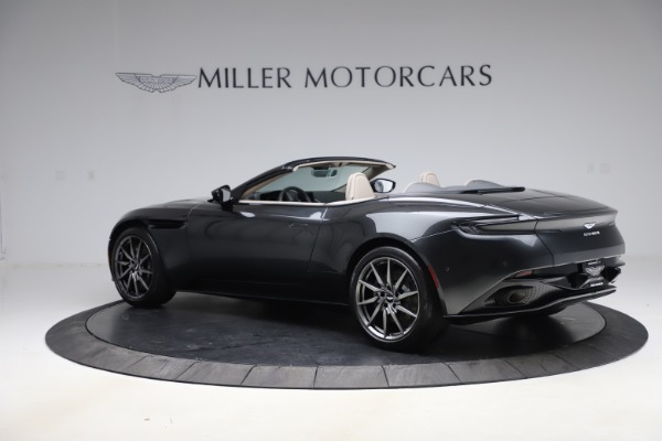 New 2021 Aston Martin DB11 Volante Convertible for sale $270,386 at McLaren Greenwich in Greenwich CT 06830 3