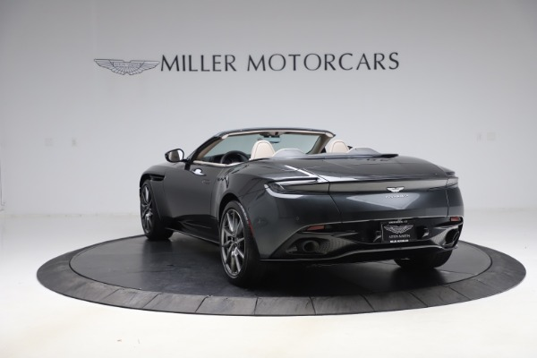 New 2021 Aston Martin DB11 Volante Convertible for sale $270,386 at McLaren Greenwich in Greenwich CT 06830 4