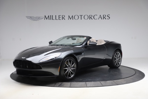 New 2021 Aston Martin DB11 Volante Convertible for sale $270,386 at McLaren Greenwich in Greenwich CT 06830 1
