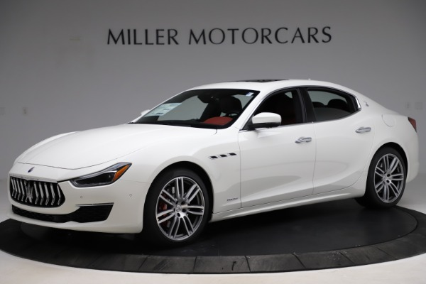 New 2021 Maserati Ghibli S Q4 GranLusso for sale $95,835 at McLaren Greenwich in Greenwich CT 06830 2