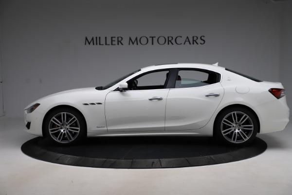 New 2021 Maserati Ghibli S Q4 GranLusso for sale Sold at McLaren Greenwich in Greenwich CT 06830 3