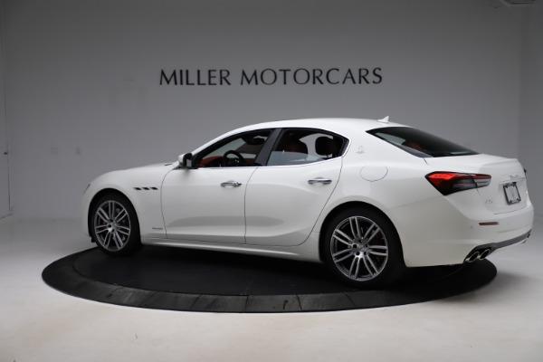 New 2021 Maserati Ghibli S Q4 GranLusso for sale Sold at McLaren Greenwich in Greenwich CT 06830 4