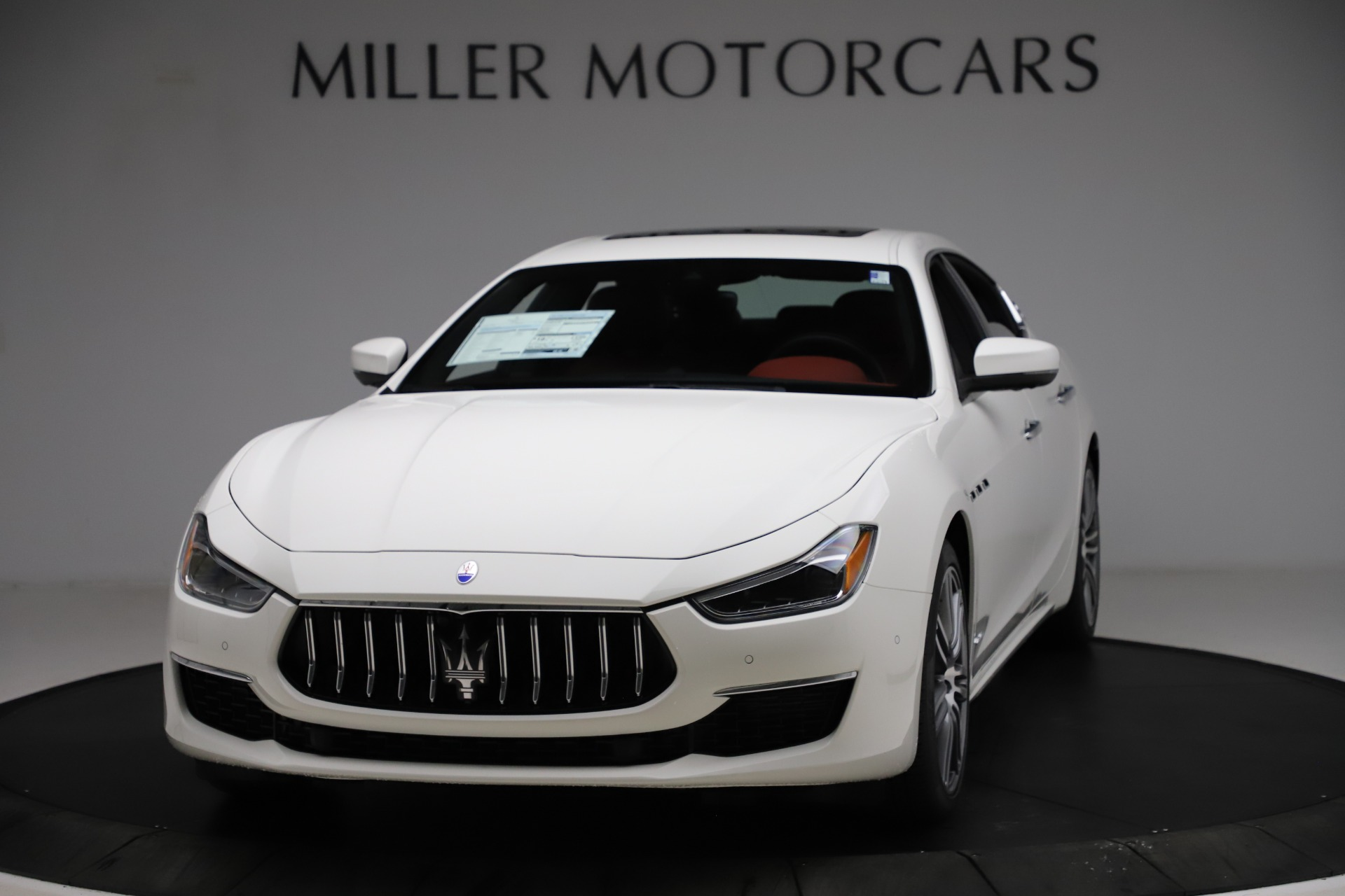New 2021 Maserati Ghibli S Q4 GranLusso for sale $95,835 at McLaren Greenwich in Greenwich CT 06830 1