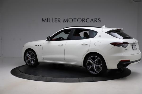 New 2021 Maserati Levante GTS for sale $140,585 at McLaren Greenwich in Greenwich CT 06830 4