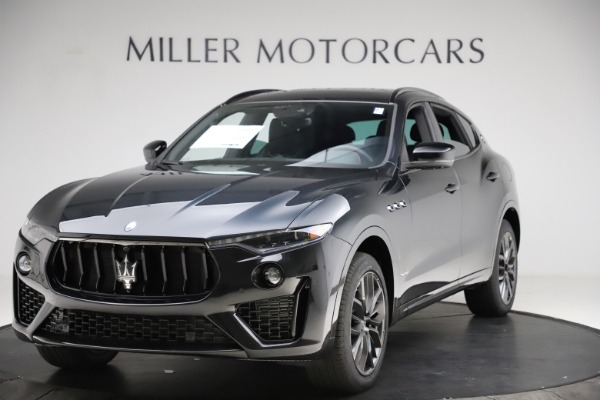 New 2021 Maserati Levante Q4 GranSport for sale Call for price at McLaren Greenwich in Greenwich CT 06830 1