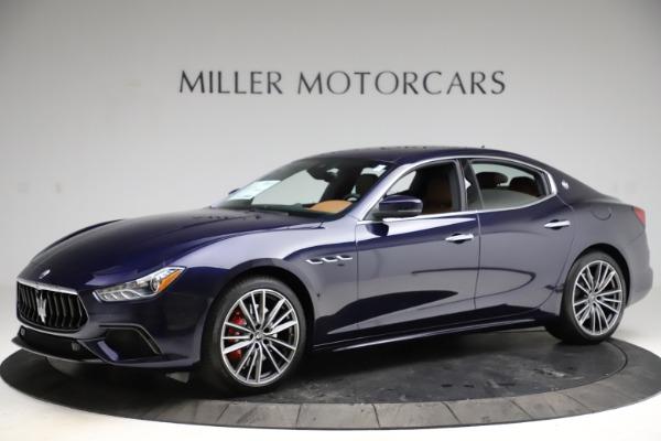 New 2021 Maserati Ghibli S Q4 for sale $90,925 at McLaren Greenwich in Greenwich CT 06830 2
