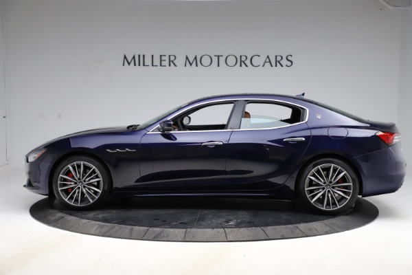 New 2021 Maserati Ghibli S Q4 for sale $90,925 at McLaren Greenwich in Greenwich CT 06830 3