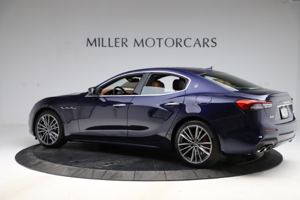 New 2021 Maserati Ghibli S Q4 for sale $90,925 at McLaren Greenwich in Greenwich CT 06830 4