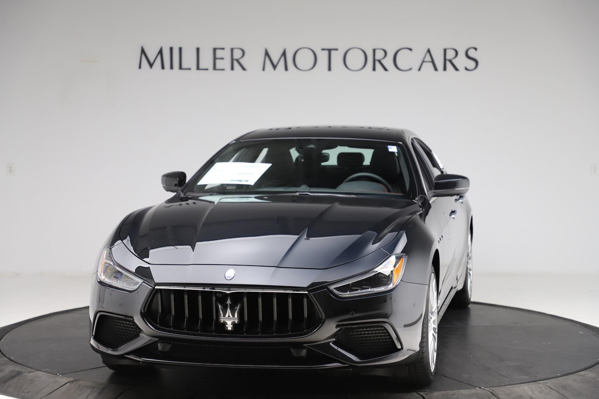 New 2021 Maserati Ghibli S Q4 GranSport for sale $98,035 at McLaren Greenwich in Greenwich CT 06830 1