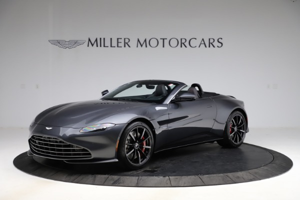 New 2021 Aston Martin Vantage Roadster Convertible for sale Sold at McLaren Greenwich in Greenwich CT 06830 1