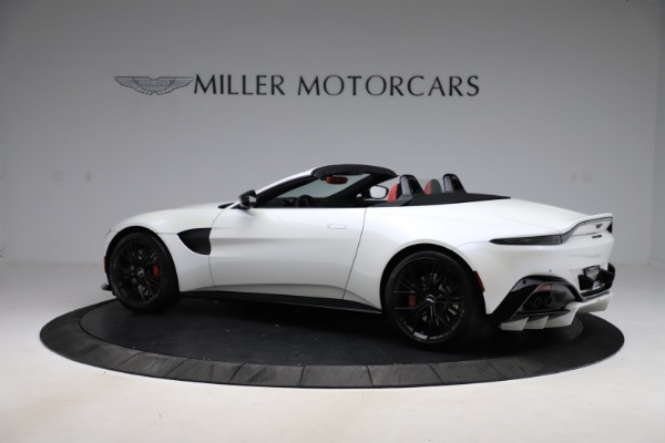 New 2021 Aston Martin Vantage Roadster Convertible for sale $189,186 at McLaren Greenwich in Greenwich CT 06830 3