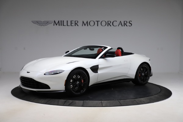 New 2021 Aston Martin Vantage Roadster Convertible for sale $189,186 at McLaren Greenwich in Greenwich CT 06830 1