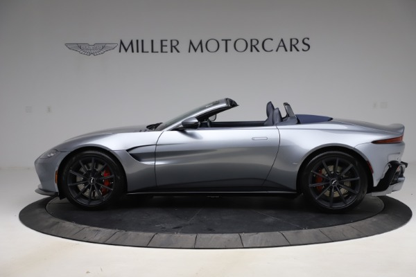New 2021 Aston Martin Vantage Roadster Convertible for sale Sold at McLaren Greenwich in Greenwich CT 06830 2