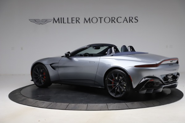 New 2021 Aston Martin Vantage Roadster Convertible for sale Sold at McLaren Greenwich in Greenwich CT 06830 3