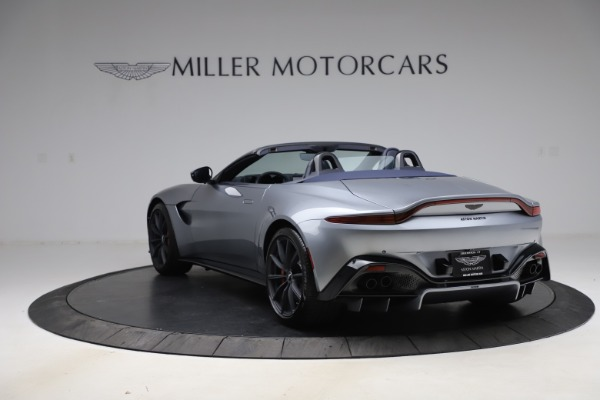New 2021 Aston Martin Vantage Roadster Convertible for sale Sold at McLaren Greenwich in Greenwich CT 06830 4