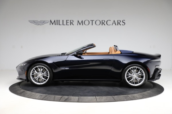 New 2021 Aston Martin Vantage Roadster Convertible for sale $205,686 at McLaren Greenwich in Greenwich CT 06830 2