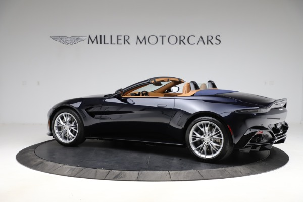 New 2021 Aston Martin Vantage Roadster Convertible for sale $205,686 at McLaren Greenwich in Greenwich CT 06830 3