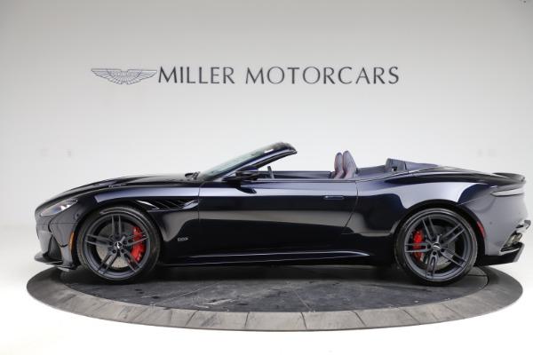 New 2021 Aston Martin DBS Superleggera Volante for sale $402,286 at McLaren Greenwich in Greenwich CT 06830 2