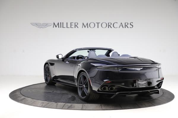 New 2021 Aston Martin DBS Superleggera Volante for sale $402,286 at McLaren Greenwich in Greenwich CT 06830 4