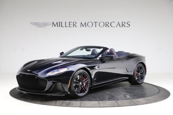 New 2021 Aston Martin DBS Superleggera Volante for sale $402,286 at McLaren Greenwich in Greenwich CT 06830 1