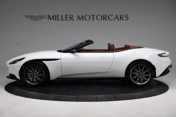 New 2021 Aston Martin DB11 Volante for sale $269,486 at McLaren Greenwich in Greenwich CT 06830 2