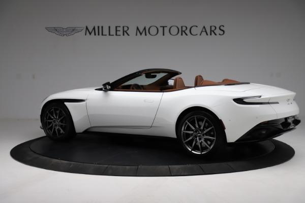 New 2021 Aston Martin DB11 Volante for sale $269,486 at McLaren Greenwich in Greenwich CT 06830 3