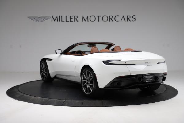 New 2021 Aston Martin DB11 Volante for sale $269,486 at McLaren Greenwich in Greenwich CT 06830 4