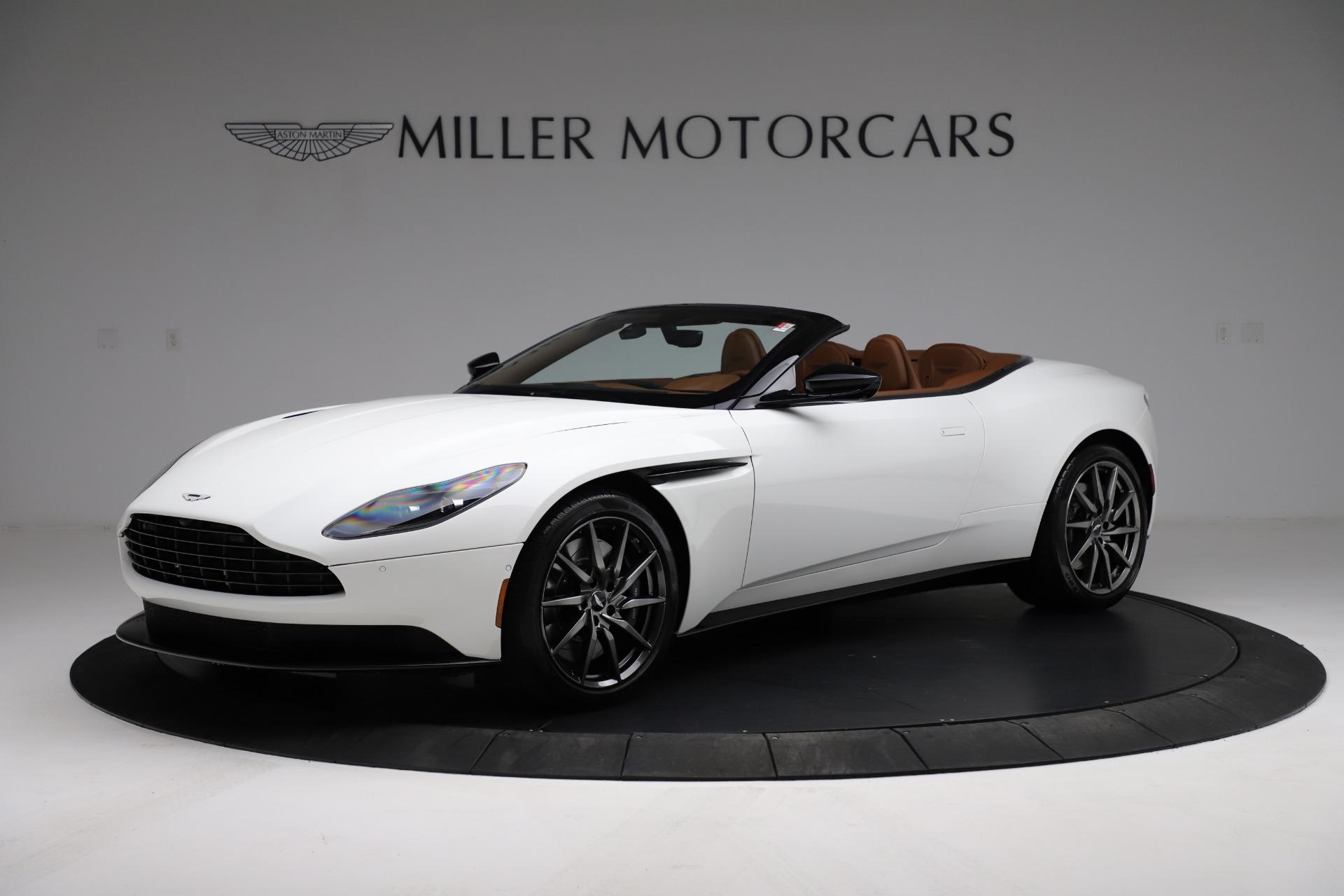 New 2021 Aston Martin DB11 Volante Convertible for sale $269,486 at McLaren Greenwich in Greenwich CT 06830 1