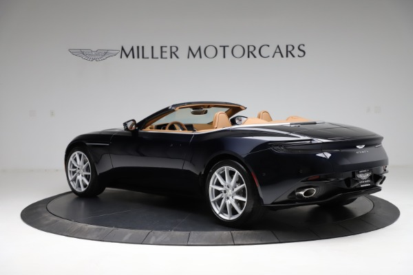 New 2021 Aston Martin DB11 Volante for sale $265,186 at McLaren Greenwich in Greenwich CT 06830 3