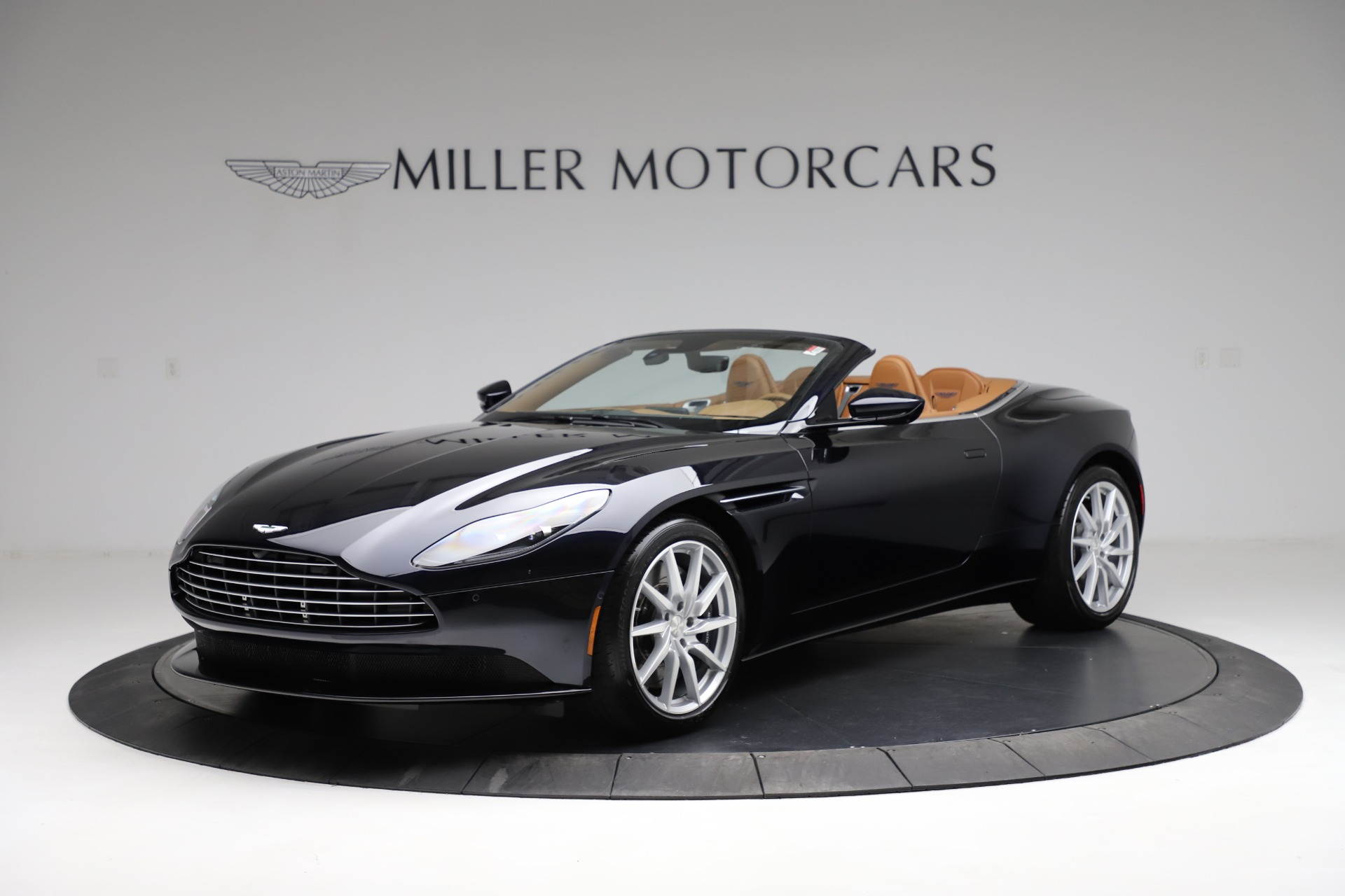 New 2021 Aston Martin DB11 Volante Convertible for sale $265,186 at McLaren Greenwich in Greenwich CT 06830 1