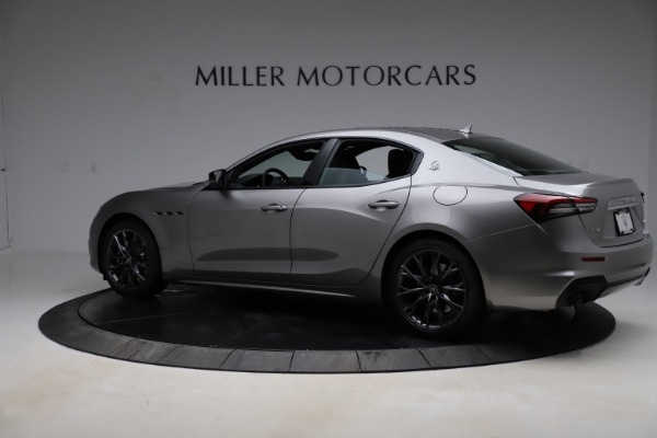 New 2021 Maserati Ghibli S Q4 GranSport for sale $98,125 at McLaren Greenwich in Greenwich CT 06830 4