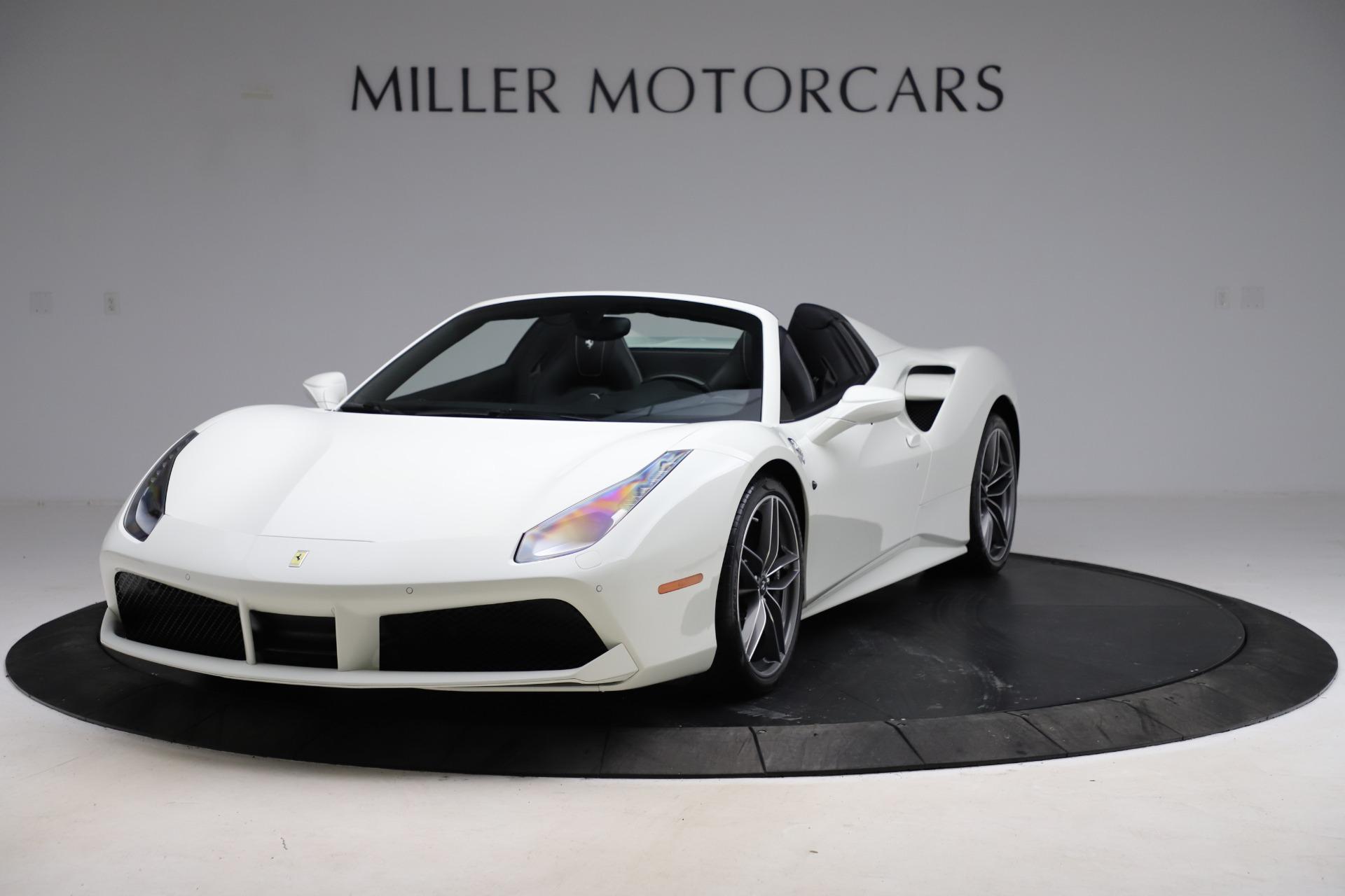 Used 2017 Ferrari 488 Spider for sale $289,900 at McLaren Greenwich in Greenwich CT 06830 1