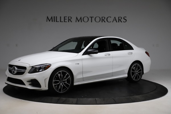 Used 2019 Mercedes-Benz C-Class AMG C 43 for sale $52,990 at McLaren Greenwich in Greenwich CT 06830 3