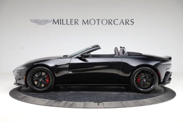 New 2021 Aston Martin Vantage Roadster Convertible for sale $189,186 at McLaren Greenwich in Greenwich CT 06830 2