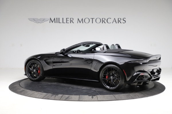 New 2021 Aston Martin Vantage Roadster for sale Sold at McLaren Greenwich in Greenwich CT 06830 3