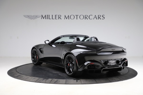 New 2021 Aston Martin Vantage Roadster Convertible for sale $189,186 at McLaren Greenwich in Greenwich CT 06830 4