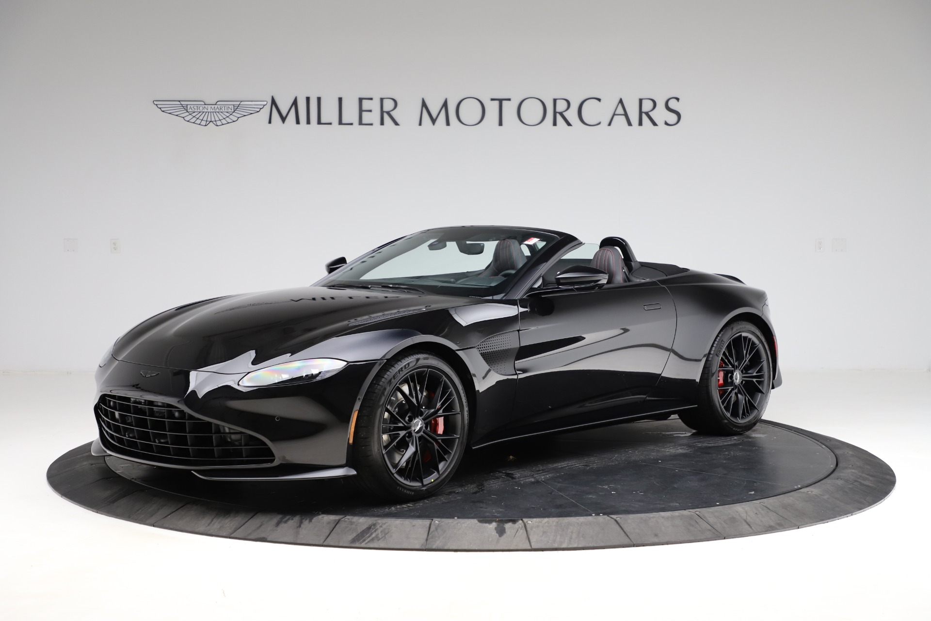 New 2021 Aston Martin Vantage Roadster for sale Sold at McLaren Greenwich in Greenwich CT 06830 1
