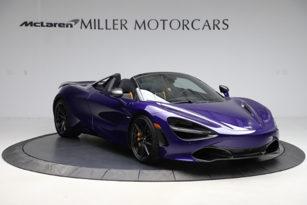 Used 2020 McLaren 720S Spider Performance for sale $324,990 at McLaren Greenwich in Greenwich CT 06830 4