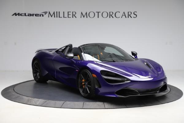 Used 2020 McLaren 720S Spider for sale $324,990 at McLaren Greenwich in Greenwich CT 06830 4