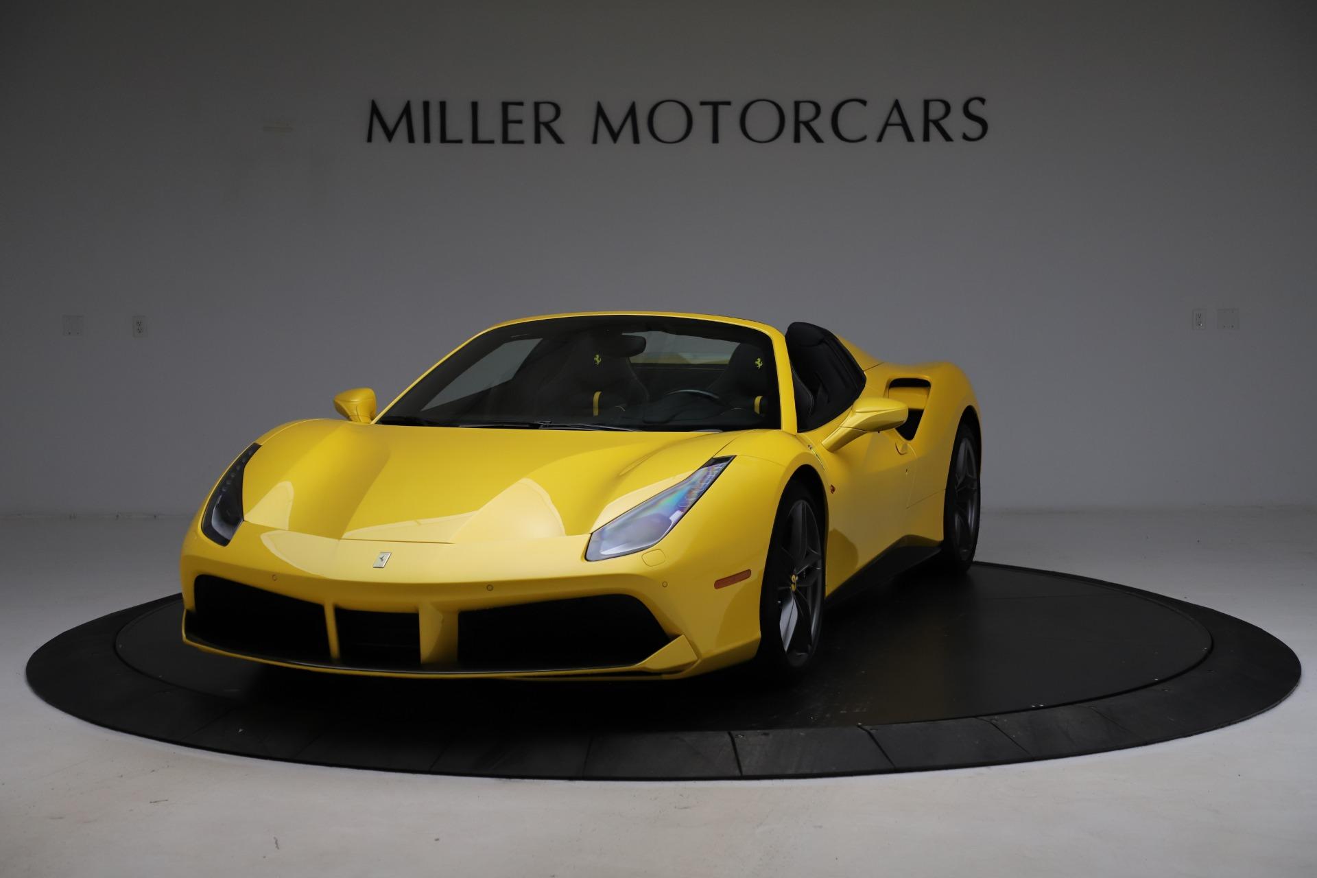Used 2018 Ferrari 488 Spider for sale $289,900 at McLaren Greenwich in Greenwich CT 06830 1
