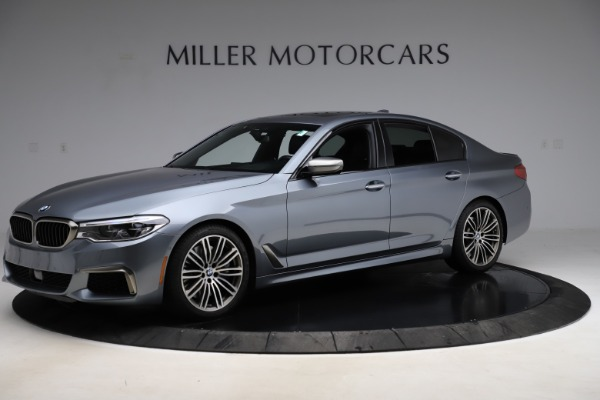 Used 2018 BMW 5 Series M550i xDrive for sale $49,900 at McLaren Greenwich in Greenwich CT 06830 2
